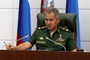 Russian Defense Minister Sergei Shoigu. /Reuters