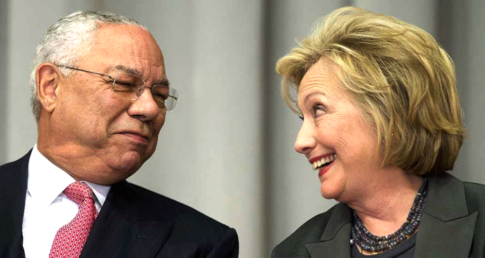 Facebook feed pushed fake story on Colin Powell and Hillary Clinton's email