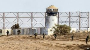 Border fence between Israel and the Gaza Strip. /AFP