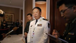Rear Adm. Guan Youfei. /Minnie Chan/South China Morning Post