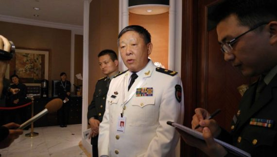 China official shows up in Syria, praises Russia's role in conflict