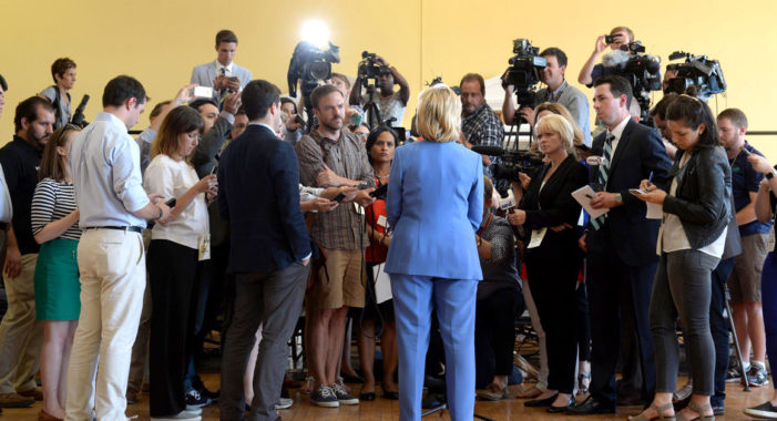 De-pressed? The media has embarrassed itself right out of contention in Campaign 2016