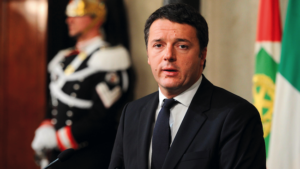 Italian Prime Minister Matteo Renzi.