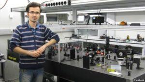 PhD student Omid Kokabee.