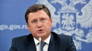 Russian Energy Minister Alexander Novak. /AFP
