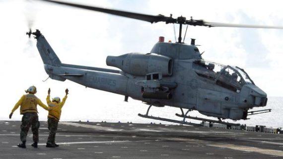 SuperCobra gunships join U.S. late-summer air operations in Libya