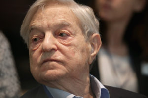 George Soros. /Getty Images