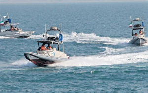 Iranian fast-attack boats