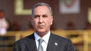 Iraqi Defense Minister Khalid al-Obeidi