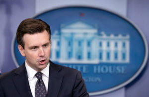 White House spokesman Josh Earnest. /AP