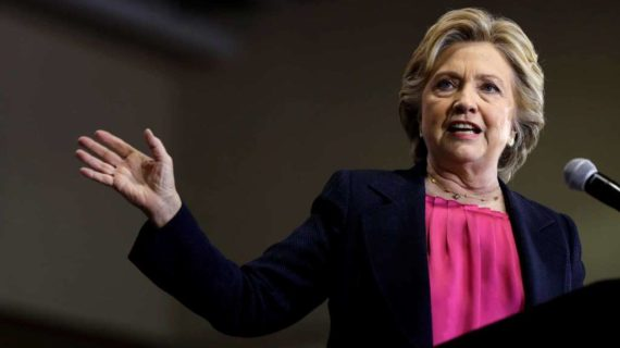 Hillary Clinton slams North Carolina leaders at rally in Raleigh