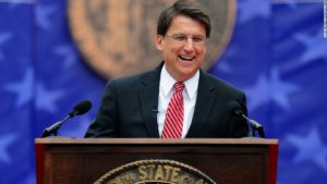 North Carolina's economic hot streak continues under Gov. Pat McCrory.