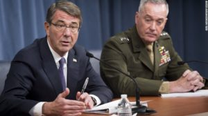 Defense Secretary Ash Carter, left, and Gen. Joseph Dunford. /Getty Images
