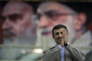 Mahmoud Ahmadinejad's thoughts of a political comeback were likely just derailed by Ayatollah Ali Khamenei. /Reuters
