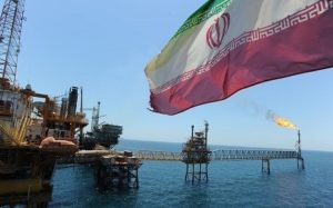 Iranian oil facility in the Persian Gulf. /AFP