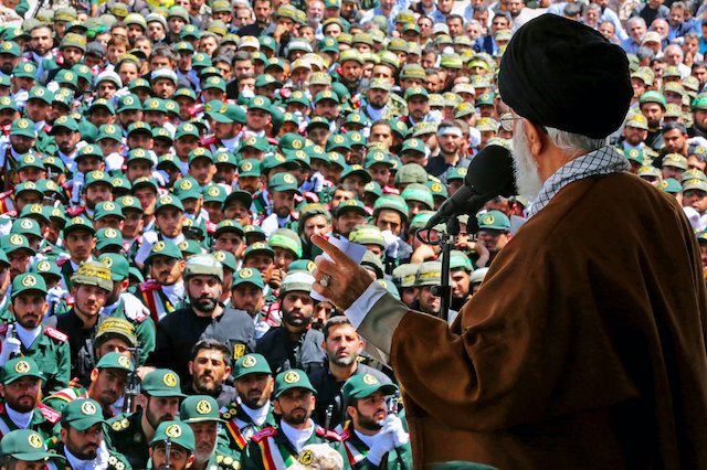 Iran's narrative relies on 'Great Satan': 90 percent of news focused on 'enemies'