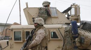 U.S. Marines in Baghdad. /Reuters