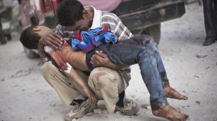 Death toll in Syrian war tops 300,000