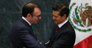 President Enrique Peña Nieto accepts the resignation of Finance Minister Luis Videgaray following Donald Trump's visit. Edgard Garrido / Reuters