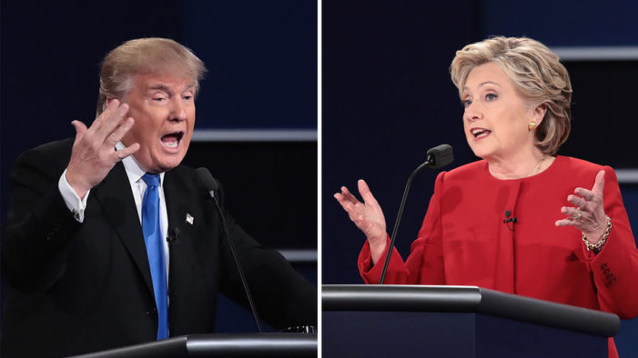 As the world watched anxiously: Foreign policy double talk in the first presidential debate