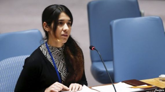 Iraqi Yazidi woman who was enslaved by ISIL is named UN goodwill ambassador