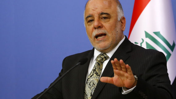 Iraqi prime minister: Presence of Turkish troops in Iraq hampers effort to liberate Mosul