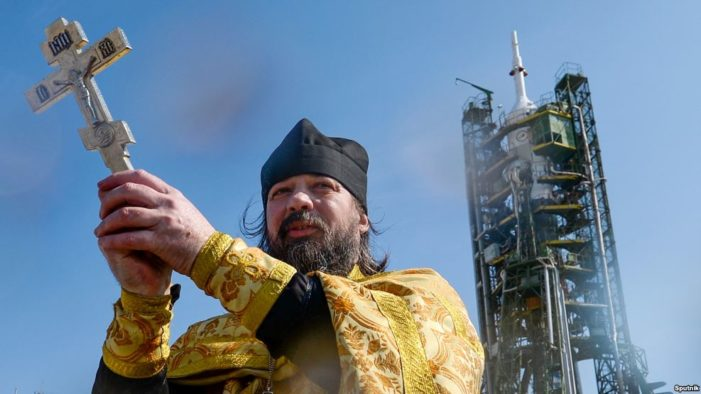 From atheistic Soviet communism to a Russian Orthodox space program