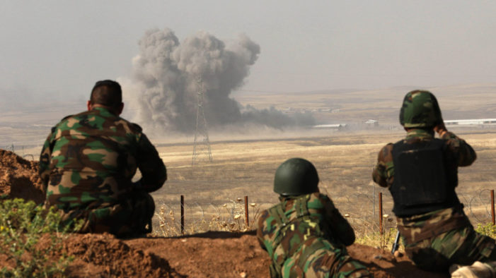 U.S. coalition forces in Iraq now up to 8,000 in advance of offensive to retake Mosul