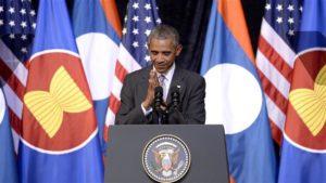 President Barack Obama in Laos on Sept. 6. /AFP/Getty Images