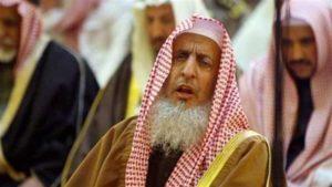 Saudi Grand Mufti Abdul-Aziz ibn Abdullah Al ash-Sheikh