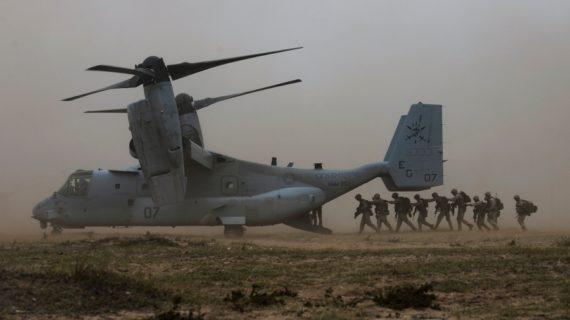 U.S. Marines step up on-ground target development near Mosul
