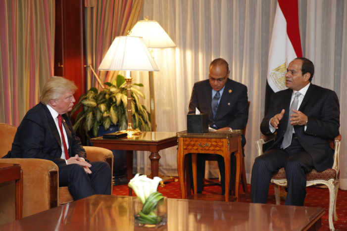 Trump to Egypt's Sisi: More than an ally, 'the United States will be a loyal friend'