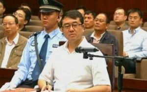Wang Lijun speaks during a court hearing in Chengdu. /Reuters