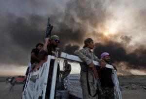Iraqi Shi'ite militias began an offensive toward Tal Afar on Oct. 29. /Reuters