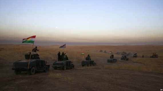 Iraqi and allied force of 30,000 begins offensive to retake Mosul