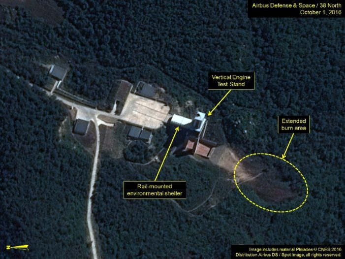 Activity at North Korean rocket site fuels speculation of new missile test