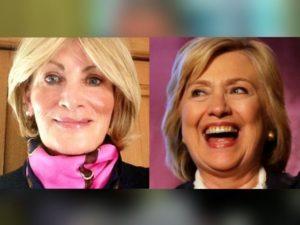 Linda Tripp and Hillary Clinton