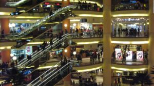 City Stars shopping mall in Cairo.