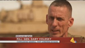 Maj. Gen. Gary Volesky.