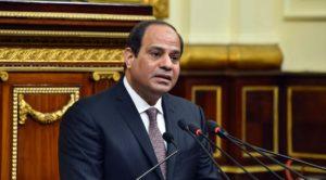 Egyptian President Abdul Fatah Sisi. /MENA via AP