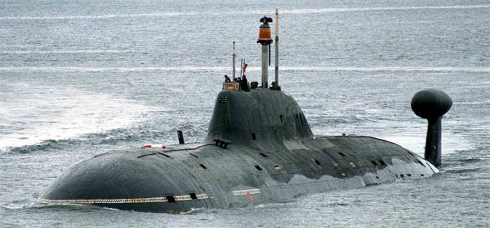 Syria-bound Russian subs tracked through the English channel