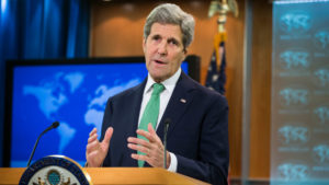 'We don't behave like Russians': U.S. Secretary of State John Kerry. /AP