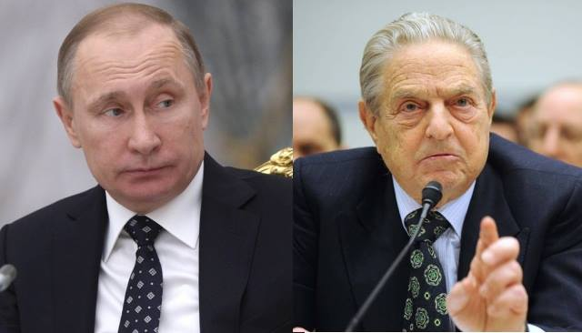 Soros, in shift from U.S. campaign, targets Putin for 'crimes against humanity'