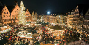 The Christmas market in Strasbourg is one of the largest and oldest in France.