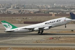 Iran is said to have used Mahan Air flights to Lebanon to ship arms to Hizbullah.