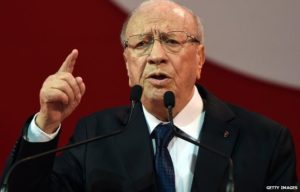 Tunisian President Beji Caid Essebsi. /Getty Images