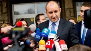 Bulgarian President-elect Rumen Radev. /AFP
