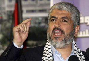 Hamas leader Khaled Masha'al. /AP