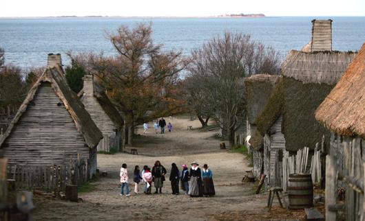 Plimoth Plantation Recreates World Of The Pilgrims
