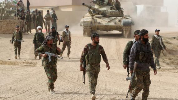 Shi'ite militia seizes air base near Mosul, cutting ISIL supply route to Syria